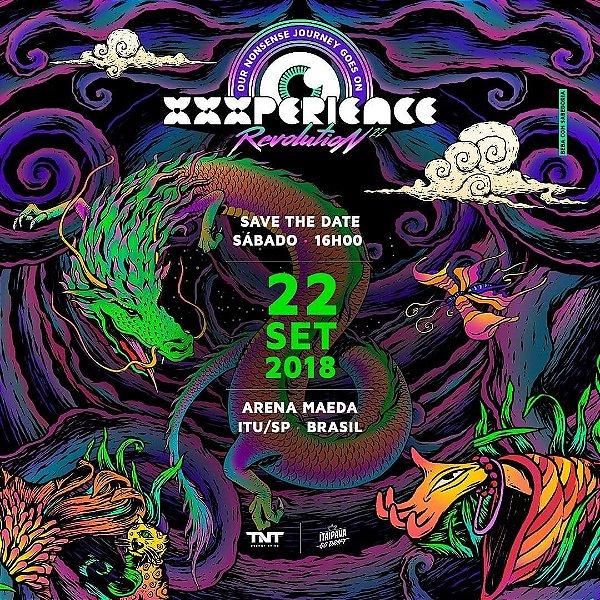 XXXperience Especial 22 anos - 5 ingressos PISTA Unissex - Arena Maeda Itu -22 de setembro