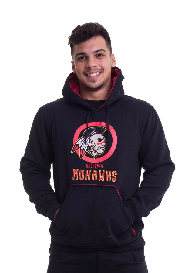 COMBO Preto Moletom + Camiseta + Boné Mohawks