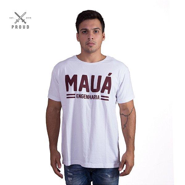 Camiseta Mauá Engenharia Branca
