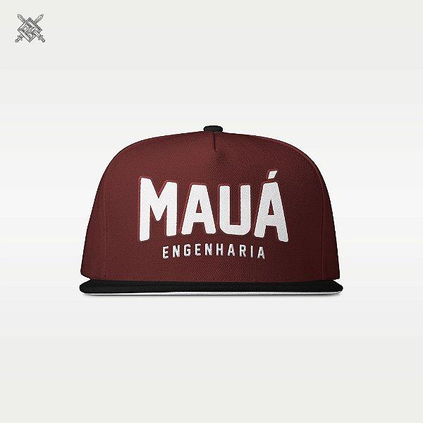 Boné Mauá Bordô/Preto
