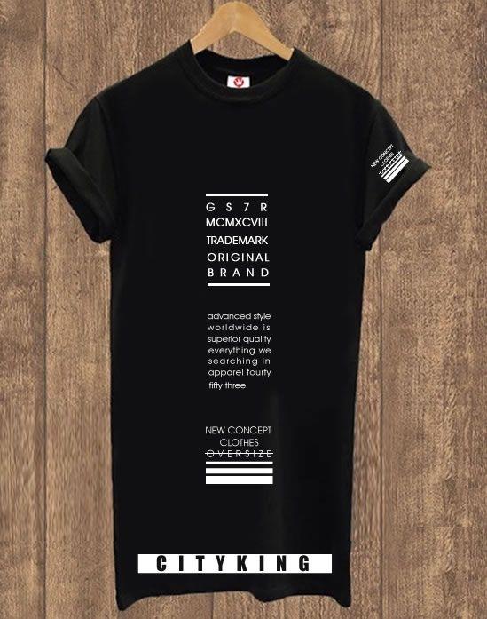 Camiseta Alongada Original King Shirt
