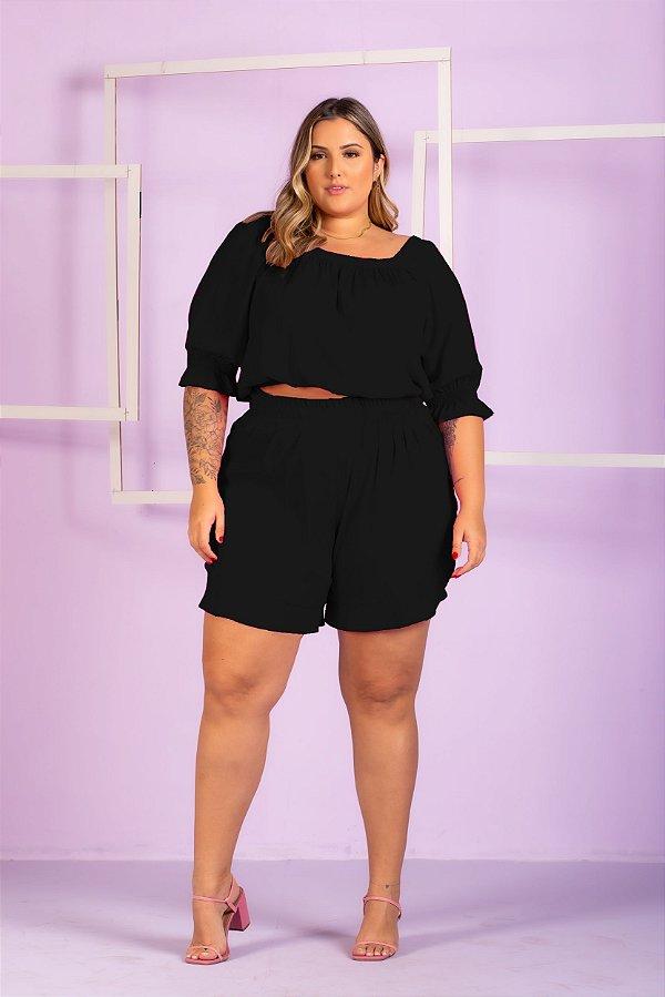 Blusa Aline Plus Size