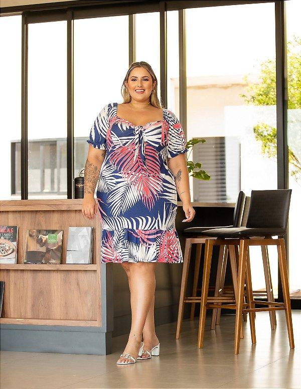 Vestido Estampado Lavinia Plus Size