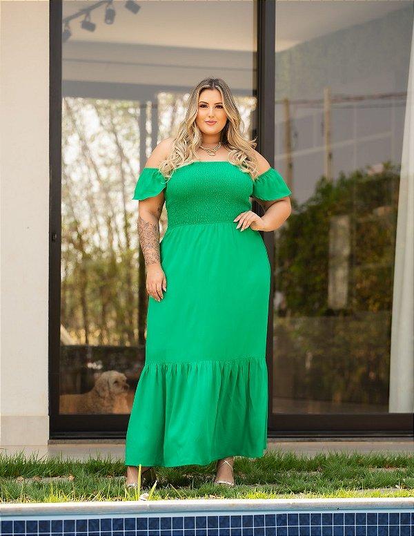 Vestido Longo Jennifer Plus Size
