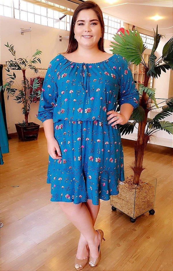 Vestido Maxxi Fashion Plus Size
