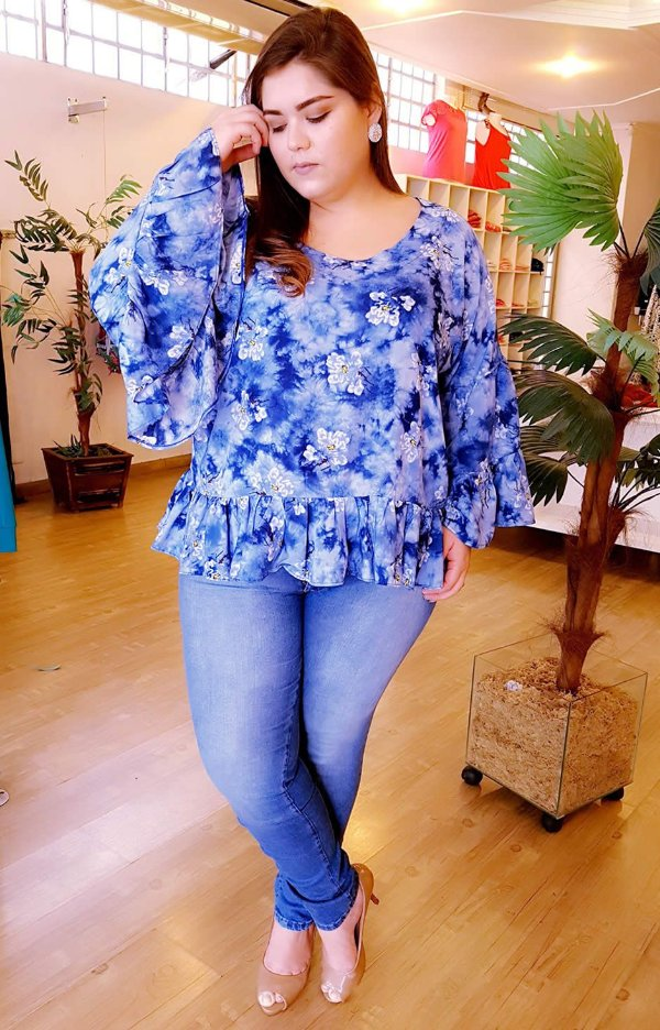 Blusa Doce Menina Plus Size