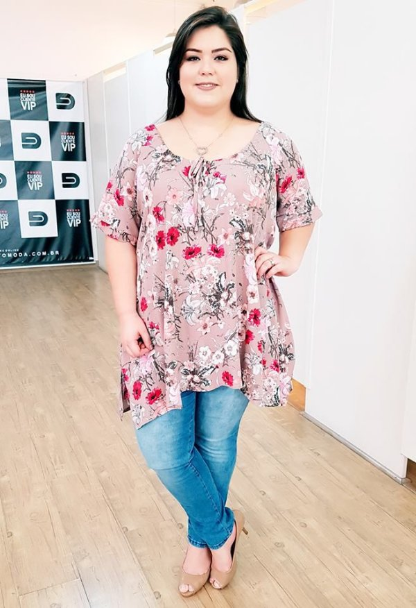 Blusa New Cloe Plus Size