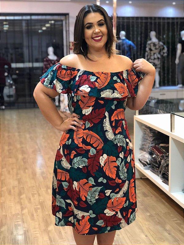 Vestido Longuete Flórida Plus Size