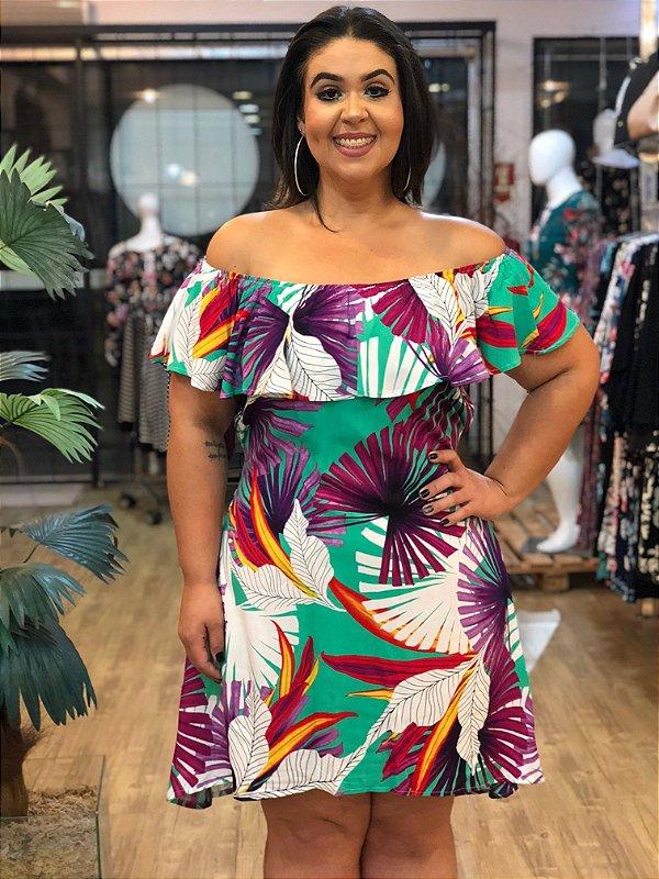 Vestido Tropical Flórida