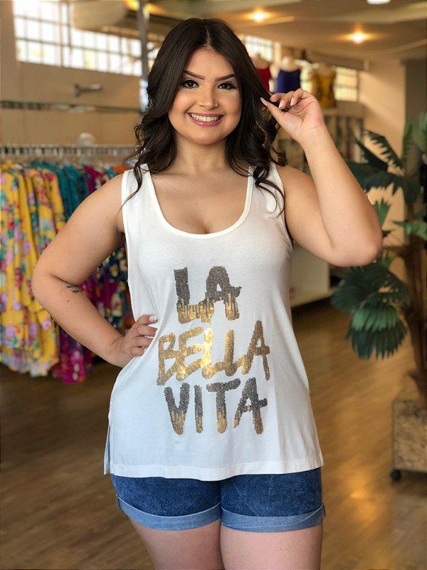Blusa Bella Vita Plus Size