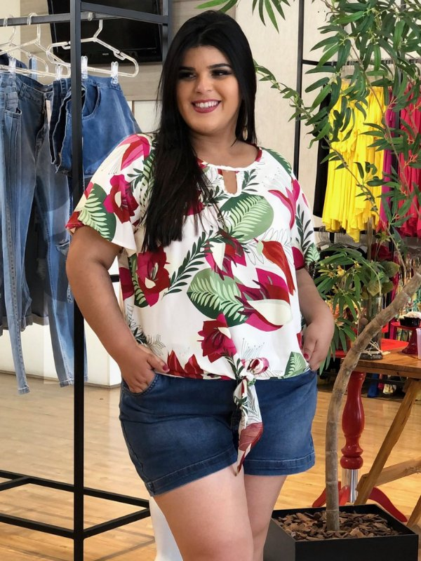 Blusa Floral Target