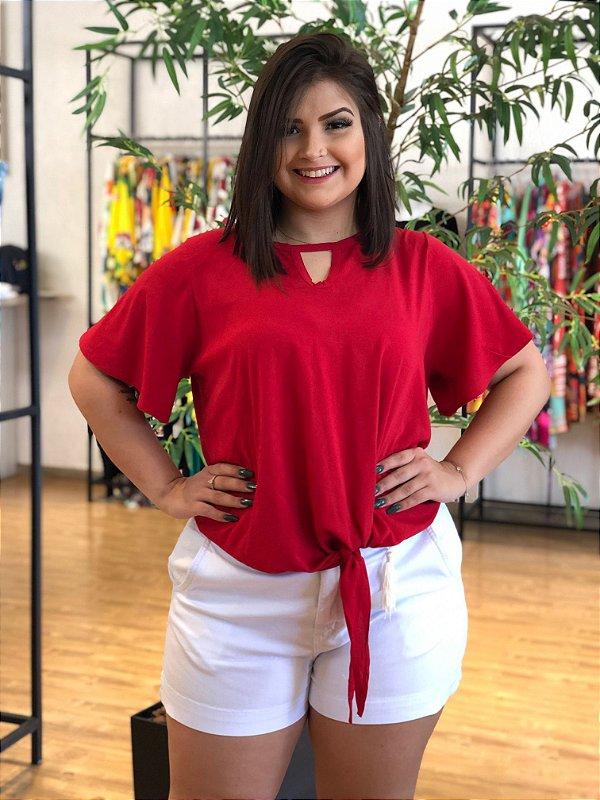 Blusa Red Target