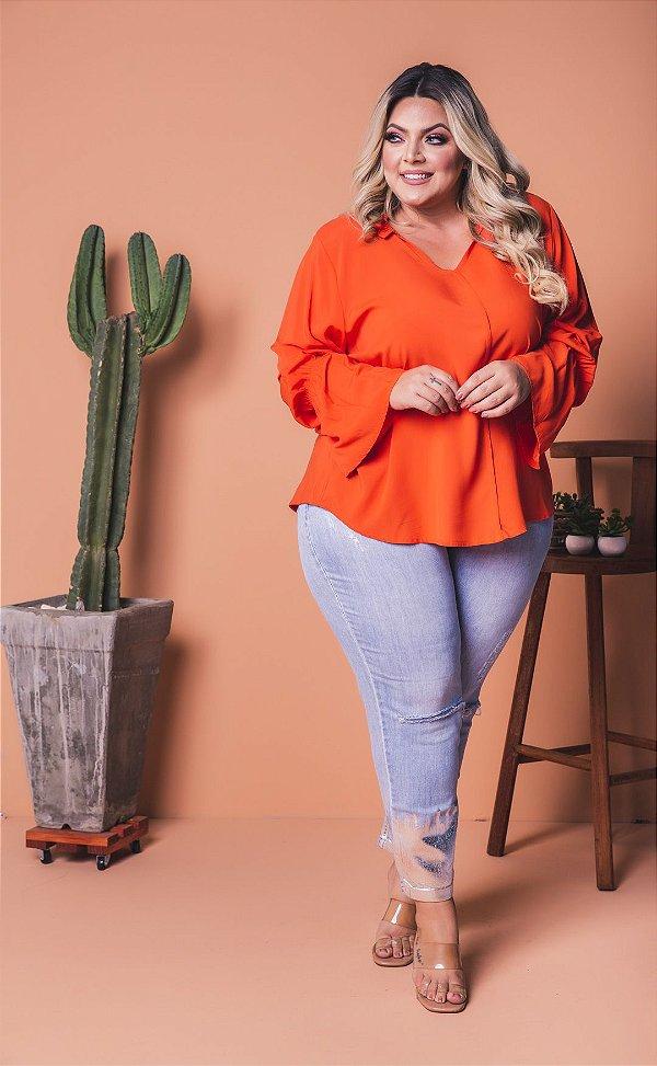 Blusa Condessa Orange