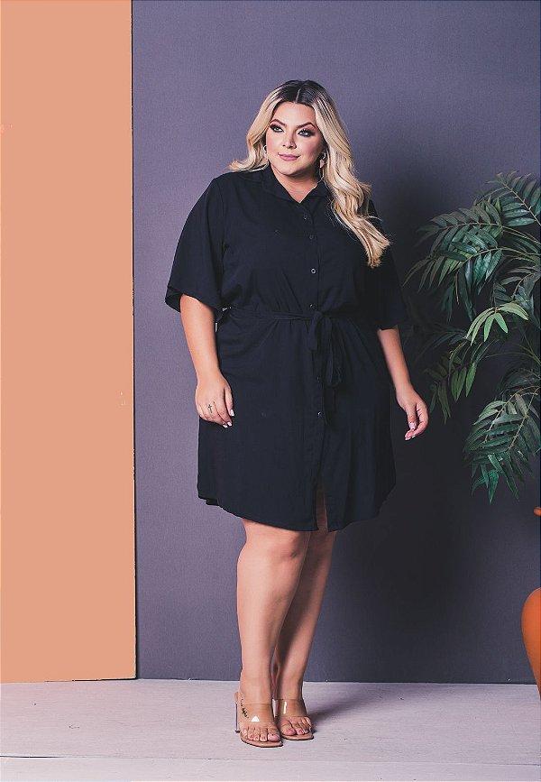 Vestido Essence Black Plus Size