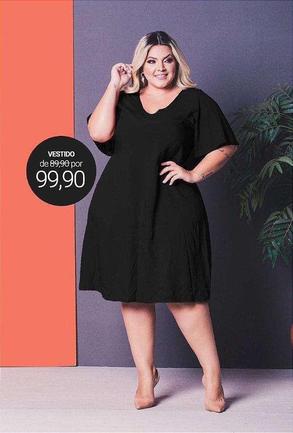 Vestido Chalenge Black