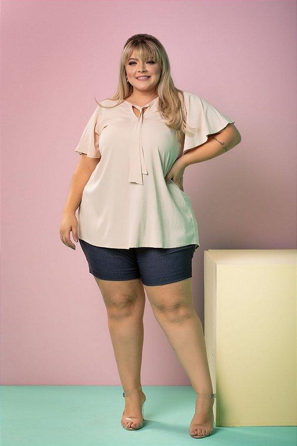 Blusa Mel Plus Size (Viscose com Elastano)
