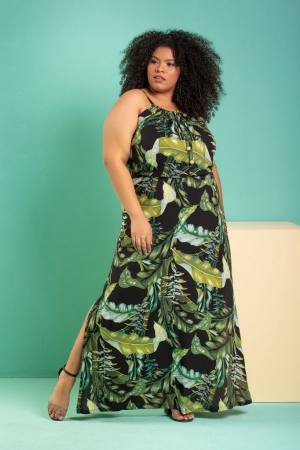 Vestido Longo Amazon