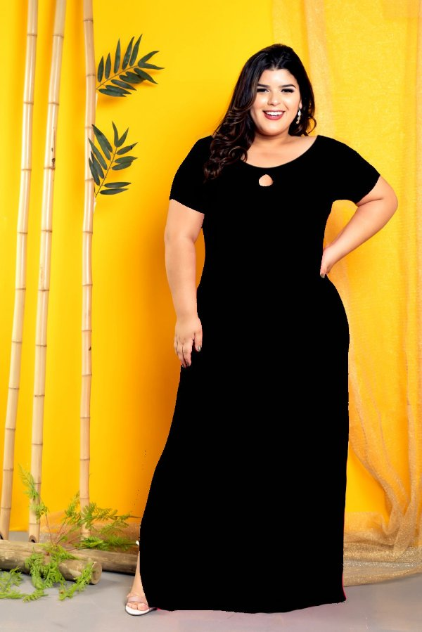 Vestido Long Black
