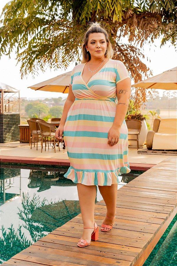 Vestido Caribe Plus Size