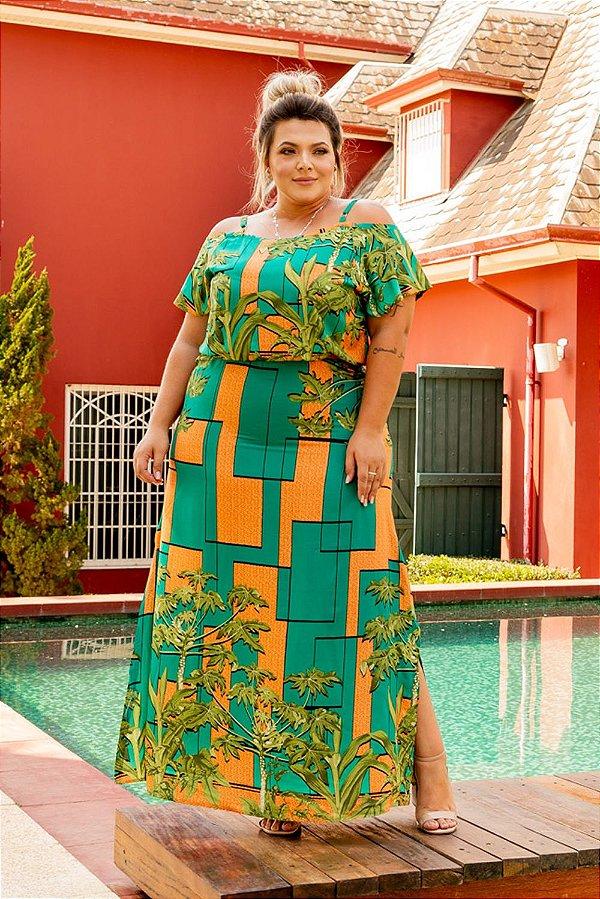 Vestido Longo Pure Green