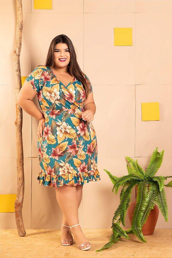 Vestido Carícia Plus Size