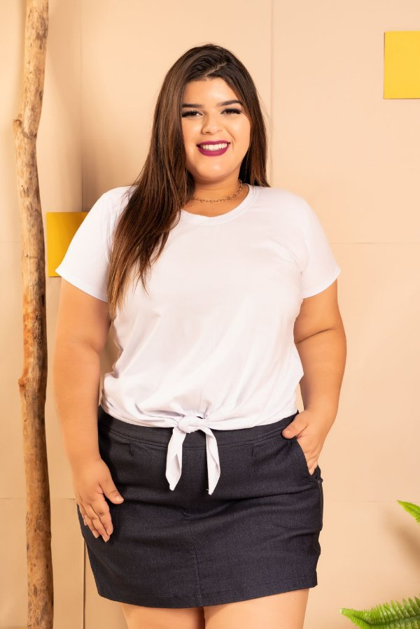Blusa T-Shirt White