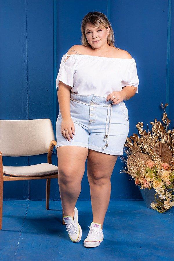 Short jeans Autthentic Plus Size
