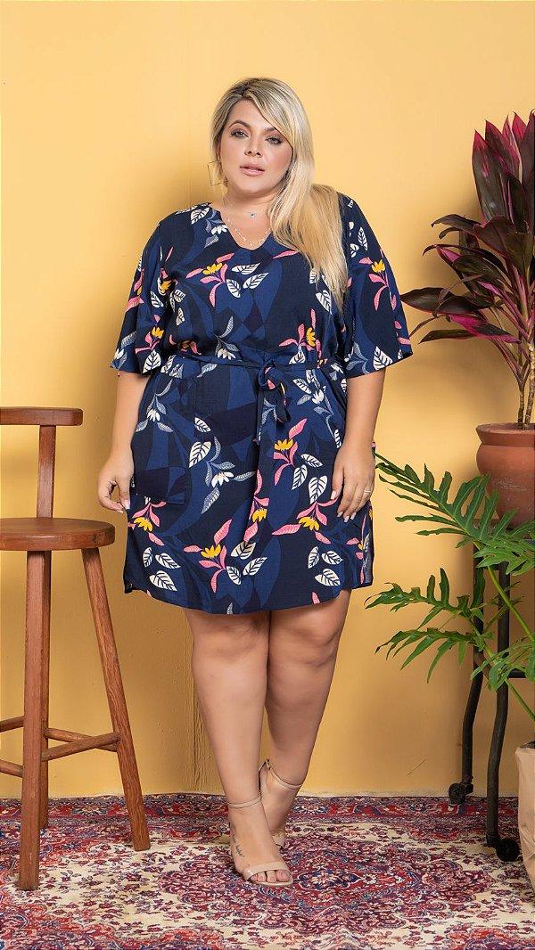 Vestido Florescer Plus Size