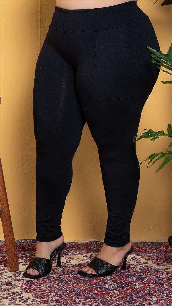 Calça Montaria c/ bolso Coragem Plus Size (POLIAMIDA/ELASTANO)