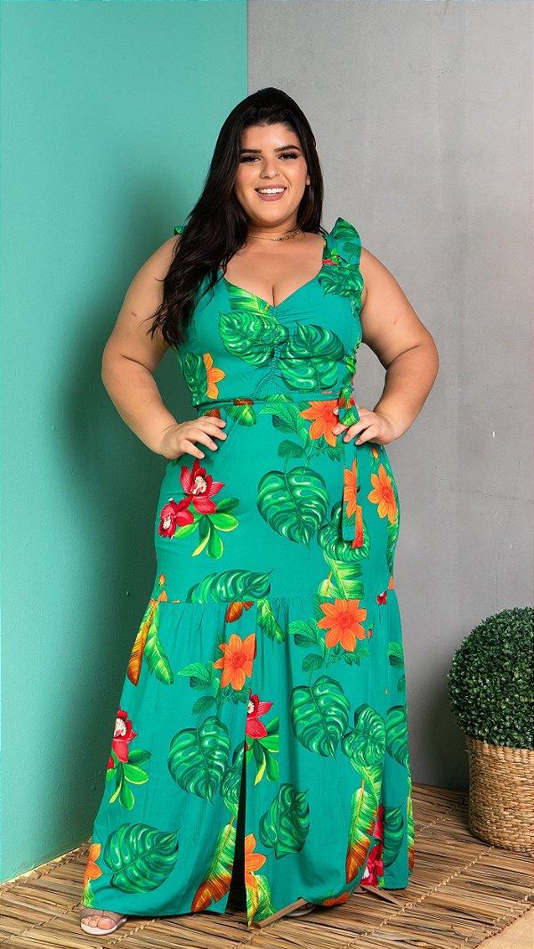 Vestido Long Serena Green