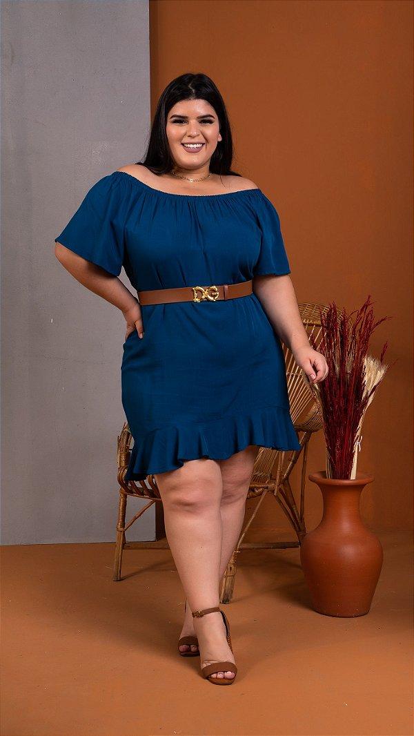 Vestido Saint Blue Plus Size