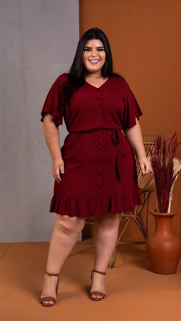 Vestido Florenza Marsala