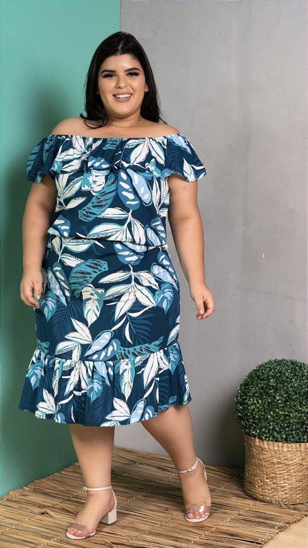 Vestido Sky Blue Plus Size