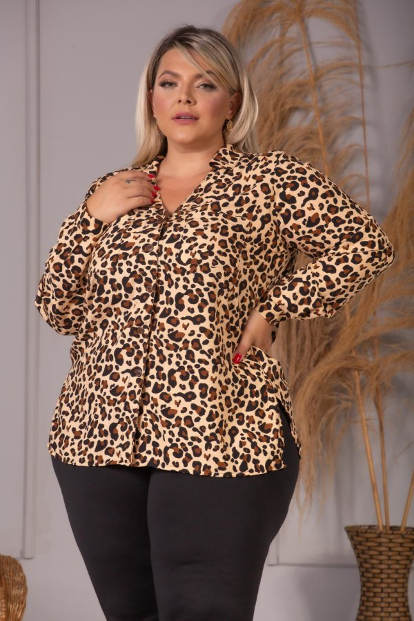 Camisa Dolce Animal Print