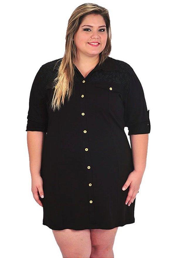 Vestido Chamisier Plus Size