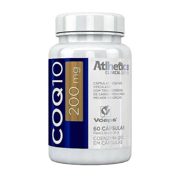 Coezima Q 10 - 200 mg  - Athletica - 60 Caps