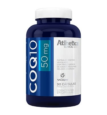 Coezima COQ - 50 mg - Athletica - 90 Caps