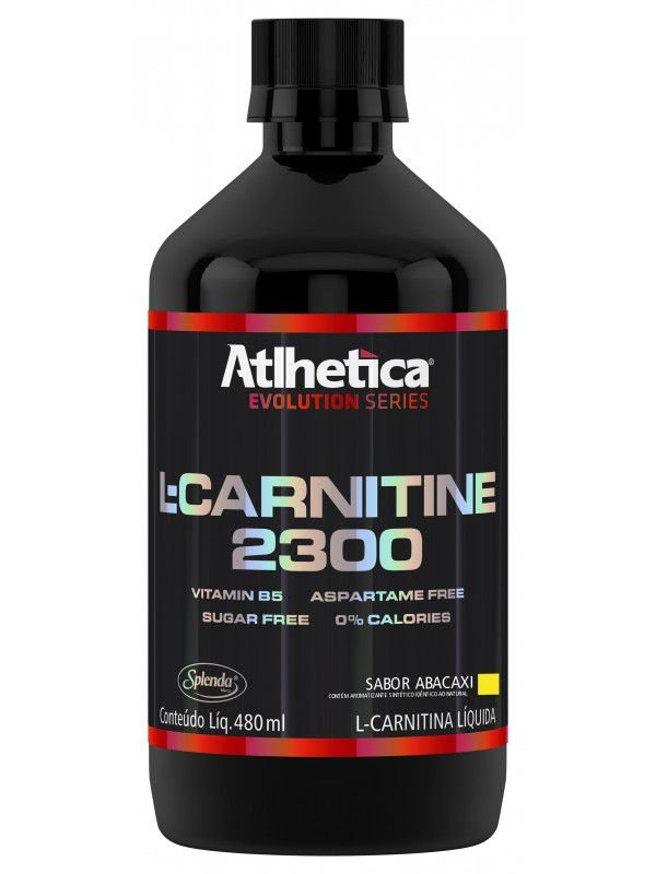 L Carnetina 400ml Abacaxi - Athletica