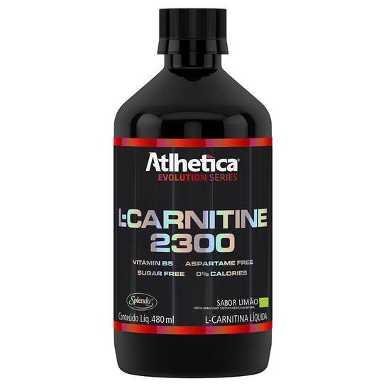 L Carnetina 400ml Limão - Athletica