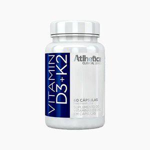 Vitamina D3 200UI + K2 65 MCG - Athletica