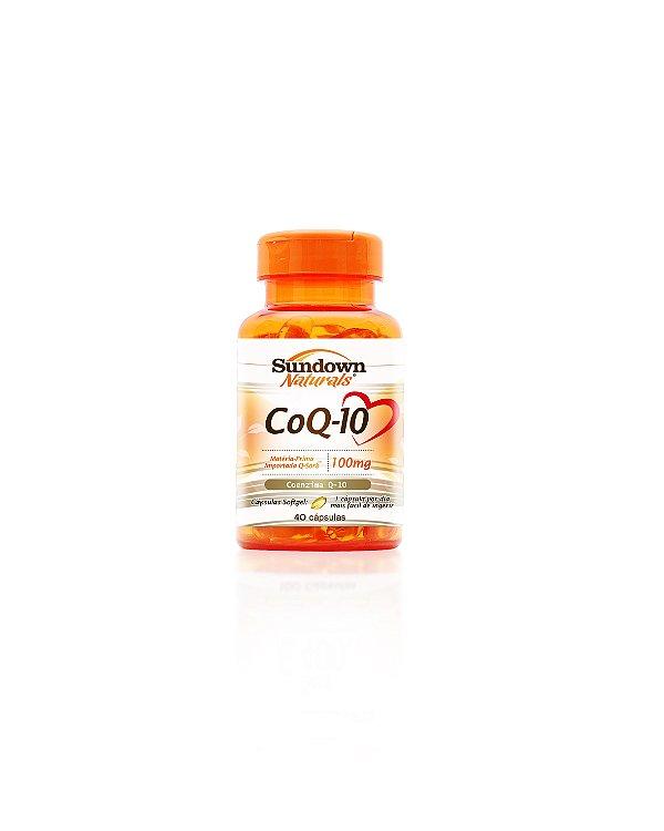 Coezima COQ10 100Mg - Sundown 40 Caps