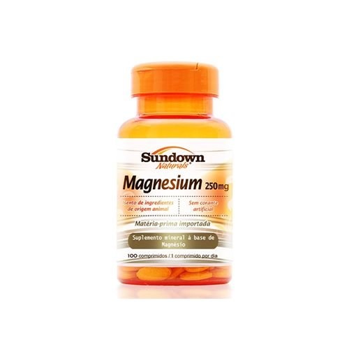 Magnesium 250mg - Sundown - 100 cps