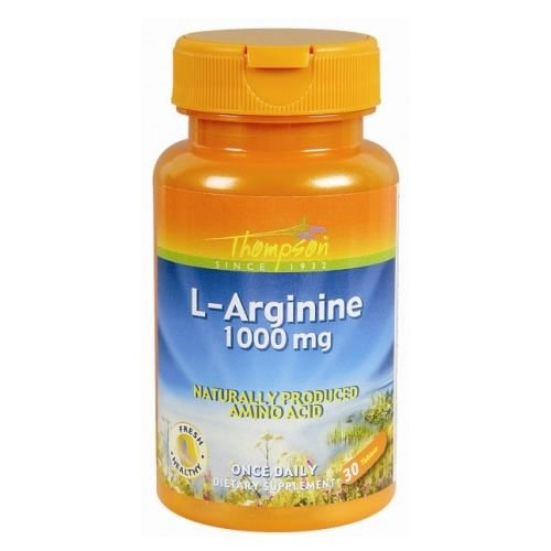 L-Arginine 1000mg Thompson - 30 cáps