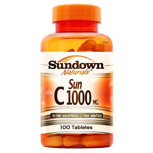 Vitamina C - Sundown - 1000MG c/ 100 Caps