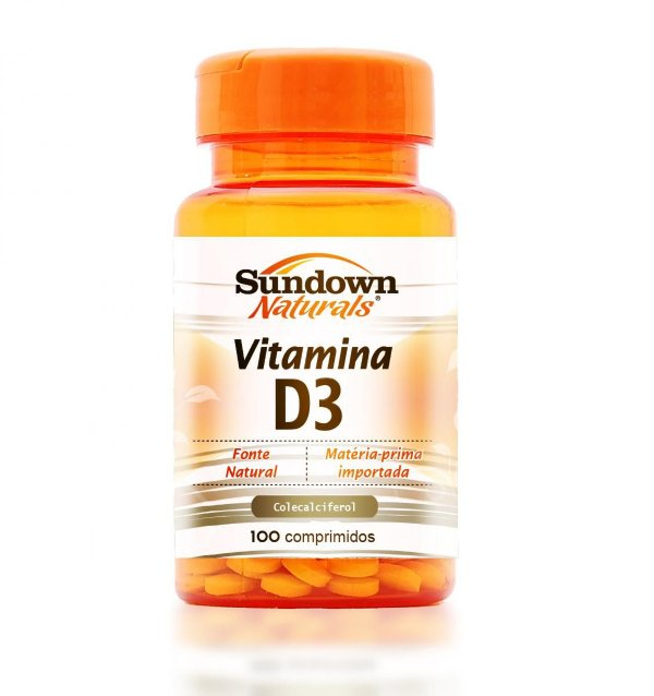 Vitamina D3 400UI - Sundown 100 Caps