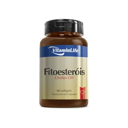 Fitoesteróis - Vitaminlife - 60 cps