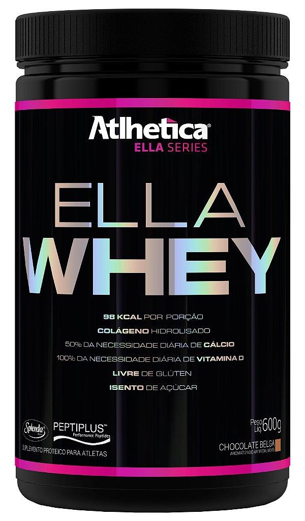 ELLA WHEY (600G) CHOCOLATE BELGA - ATLHETICA NUTRITION