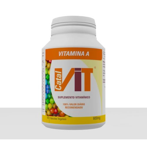 CATALVIT - VITAMINA A - 90 Cáp