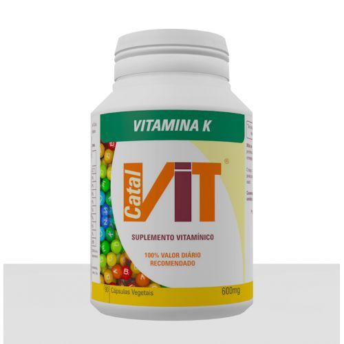 Catalvit Vitamina K - Catalmedic - 90 cps