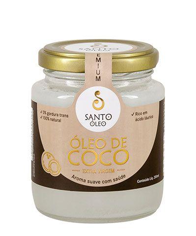 Óleo de Coco Extra Virgem 500ml - Santo Óleo